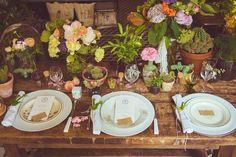 inspiration mariage rustique et folk Trendy wedding