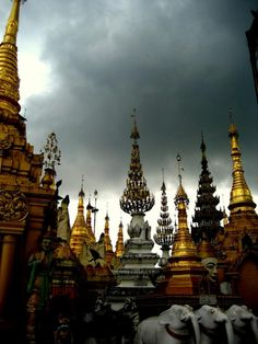 Buddhist Temple in Burma