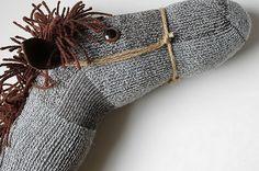Cómo reciclar calcetines viejos ~ Portal de Manualidades