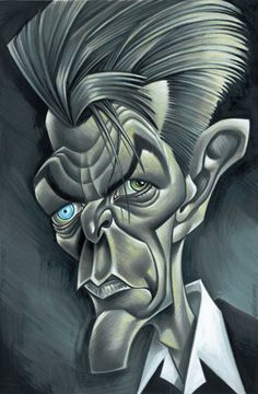 DAVID BOWIE CARICATURES-