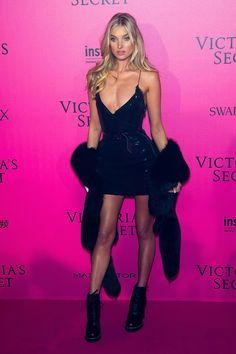 Elsa Hosk - 2016 Victoria's Secret Fashion Show After-party - HarpersBAZAAR.com