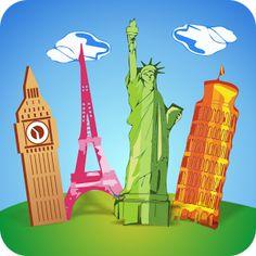 Quiz de Geografía. Disponible en varios idiomas, incluyendo ESPAÑOL.