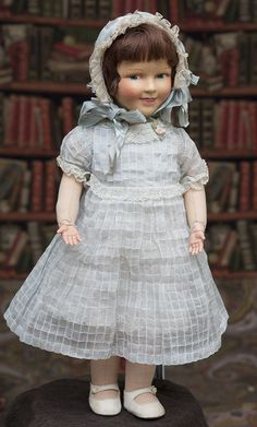 50 см Редкая французская харктерная кукла модель Ширли Темпл - VENUS,1930е годы