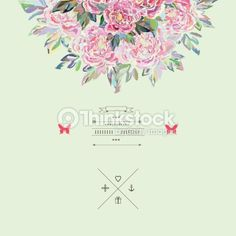 Vector Art : Beautiful  bouquet in vector. Hand drawn vector illustration.