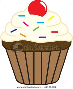 cupcake clip art 11 383x470, thinking of making this into a birthday chart