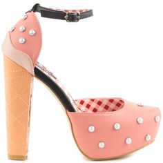 IRON FIST Peaches and Cream platform $74.99, Heels.com