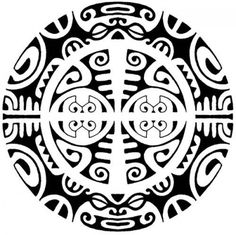 A Polynesian tattoo design consisting of multiple Polynesian symbols. - A Polynesian tattoo design consisting of multiple Polynesian symbols. Maori Tattoos, Tribal Tattoos, Filipino Tattoos, Marquesan Tattoos, Symbol Tattoos, Samoan Tattoo, Sun Tattoos, Geometric Tattoos, Borneo Tattoos