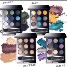 Why limit yourself? Get all 4 today at www.youravon.com/lindayashford #Avon #smokeyeye #BoldandBeautiful #matte #eyeshadows