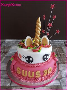 Unicorn Birthday Cake, Desserts, Unicorn, Food, Tailgate Desserts, Birthday Cakes, Deserts, Eten, Postres
