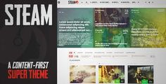 Download and review of Steam - Responsive Retina Review Magazine Theme, one of the best Themeforest Magazine & Blogs themes {Download & review at|Review and download at} {|-> }http://best-wordpress-theme.net/steam-responsive-retina-review-magazine-download-review/