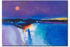 Tableau toile Paysage abstrait 49628