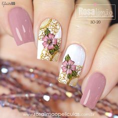 29 best summer floral and butterfly nails – 25 We have chosen the most fashionable nails for this summer. Pink Nail Art, Cool Nail Art, Pink Nails, Colorful Nails, Beautiful Nail Designs, Cute Nail Designs, Maybelline Nail Polish, Latest Nail Designs, Stylish Nails