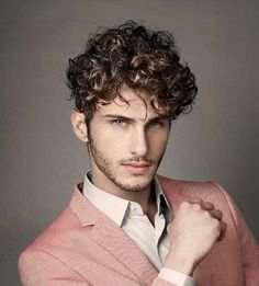 Top Curly Men Hair