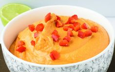 <p>This pimento cheese is creamy, spicy, and comforting, which are pretty much all the characteristics of a good dip! </p>
