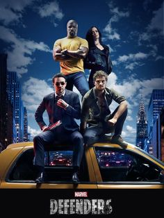 Marvel Comics Netflix TV Series - Luke Cage, Jessica Jones, Daredevil and Iron Fist Marvel Dc Comics, Marvel Vs, Disney Marvel, Marvel Defenders, The Defenders Netflix, Thomas Jane, Comic Book Characters, Marvel Characters, Marvel Universe