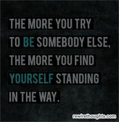 Just Be Yourself #quotes #inspirational