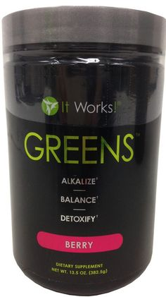 It Works! Greens - Berry Flavor - 382.5 g