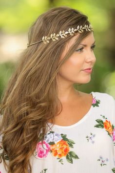 Change Their Mind Headband-Gold - New Arrivals   The Red Dress Boutique