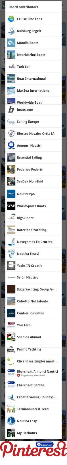 International Boats By www.ebarche.it Board contributors