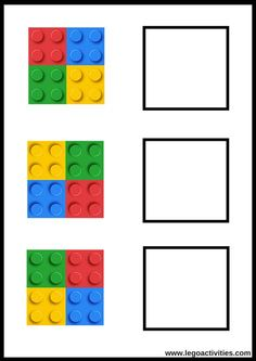 math activities with duplo Lego Activities, Preschool Learning Activities, Preschool Worksheets, Infant Activities, Preschool Activities, Lego Duplo, Lego Math, Legos, Kids Education