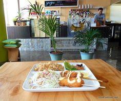 Yuzu Lounge, Southport - a modern take on a Japanese Izakaya tapas and sake bar.