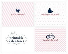 FREE Printable Valentine's Day Greeting Cards!