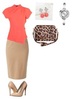 """""""Coral"""" by charlene-buchan on Polyvore featuring Helen McAlinden, Topshop, Michael Antonio and Humble Chic"""