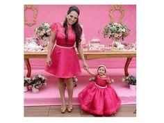 Vestido mãe e filha Princesa | O Ateliê João e Maria | Elo7