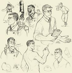 #TF2 Drawing techniques (medic)