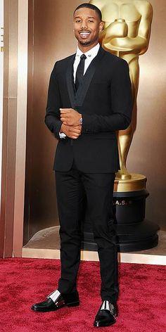 Michael B. Jordan  | The Oscars 2014 best dressed actor award goes to...