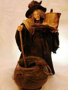 Marcia Backstrom 1:12 scale witch doll