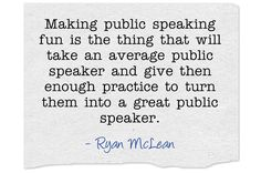15 fun public speaking activities. Great list for filling those last 10 minutes of class when you need something extra.
