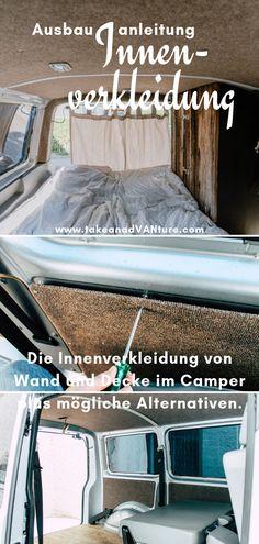 Conversion VW Transporter: Interior lining Campervan – Van Life Mercedes Sprinter Camper, Vw T4 Camper, Camper Trailers, Interior Cladding, Interior Trim, Volkswagen Bus, Presents For Boyfriend, Boyfriend Gifts, T5 Transporter