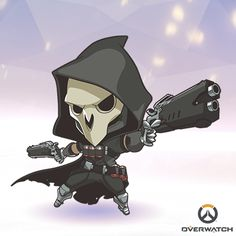 I want a tiny reaper so I can feed him and take care of him because chibi reaper Is the cutest thing
