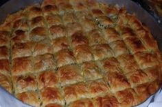 Fun Baking Recipes, Dessert Recipes, Cooking Recipes, Food Network Recipes, Food Processor Recipes, Greek Pastries, Pastry Cook, Pastry Art, Greek Cooking