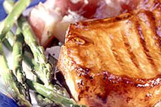 Another Simple one... this one for the BBQ!  Laurentian Pork recipe at Kraftcanada.com