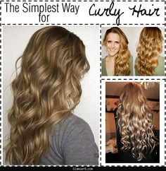 Curly hair no heat overnight - http://glamour8.com/curly-hair-no-heat-overnight.html