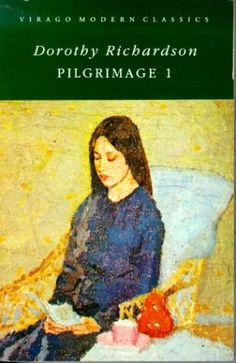 """Pointed Roofs by Dorothy Richardson First of 13 novels of """"Pilgramage"""""""