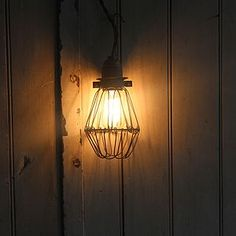 Industrial Style Work Lamp - statement lighting