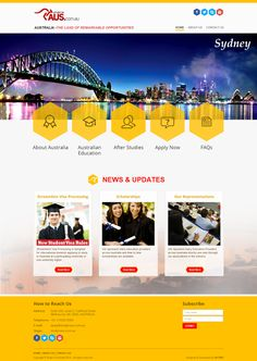 #Studyinaus #WebsiteDesigns