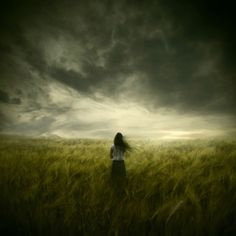 """I never found the companion that was so companionable as solitude. We are for the most part more lonely when we go abroad among men than when we stay in our chambers.""~Henry David Thoreau (Painting: The Premonition by Michael Vincent Manalo)"