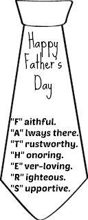 FATHERS inside tie