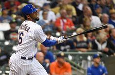 #MLB: El Quisqueyano Domingo Santana se resiente de su lesión en el codo