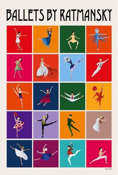 Ballets by Ratmansky - © The Ballet Bag / @Lumelabs