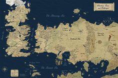 New Official Westeros Map by ~gunnar-santos on deviantART