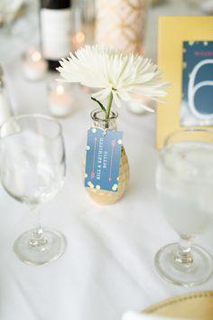 little flower vases for the table
