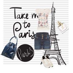 To Paris, please! #fashion #orsay #40orsay #casualfashion
