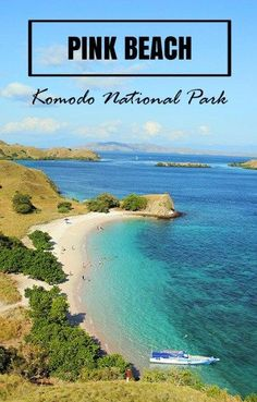 Pink Beach is an essential stop while island hopping through Komodo National Park, Indonesia.:
