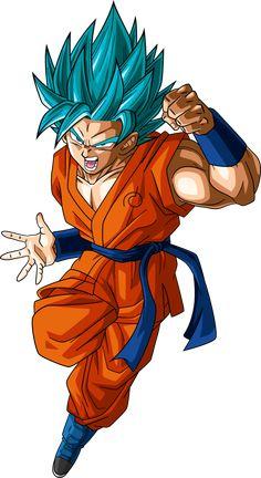 Super Saiyan Blue 2 Goku (Dragonball Super) by RayzorBlade189