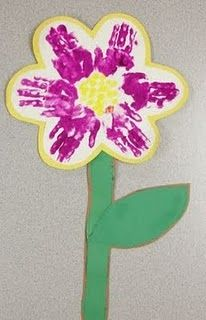 spring handprint